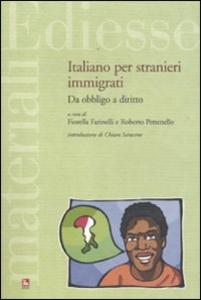 Libro Italiano per stranieri immigrati. Da obbligo a diritto