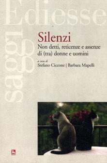Silenzi. Non detti, reticenze e assenze di (tra) donne e uomini.pdf