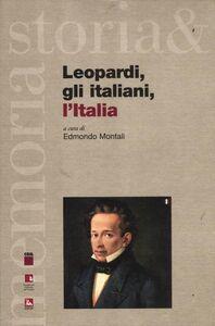 Foto Cover di Leopardi, gli italiani, l'Italia, Libro di  edito da Ediesse