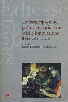 Nicocaradonna.it La partecipazione politica e sociale tra crisi e innovazione. Il caso della Toscana Image