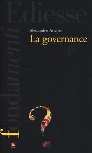 Libro La governance Alessandro Arienzo