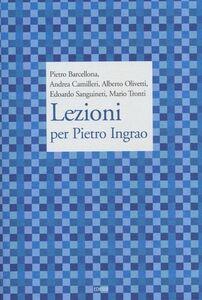 Libro Lezioni per Pietro Ingrao