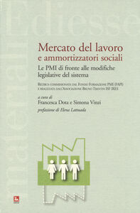 Foto Cover di Mercato del lavoro e ammortizzatori sociali. Le PMI di fronte alle modifiche legislative del sistema, Libro di  edito da Ediesse