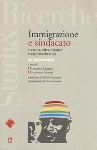 Libro Immigrazione e sindacato. Lavoro, cittadinanza e rappresentanza. VII rapporto
