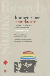 Immigrazione e sindacato. Lavoro, cittadinanza e rappresentanza. VII rapporto