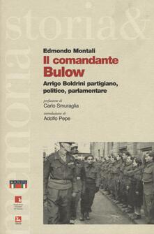 Promoartpalermo.it Il comandante Bulow. Arrigo Boldrini partigiano, politico, parlamentare Image