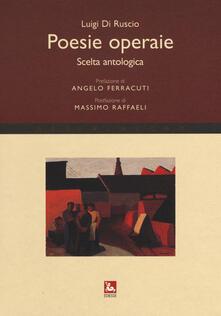 Osteriacasadimare.it Poesie operaie. Scelta antologica Image