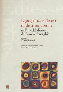 Antondemarirreguera.es Eguaglianza e divieti di discriminazione nell'era del diritto del lavoro derogabile Image