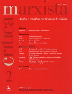 Critica marxista (2018). Vol. 2