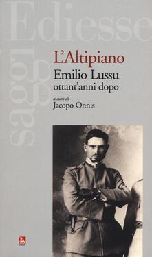 Antondemarirreguera.es L' altipiano. Emilio Lussu ottant'anni dopo Image