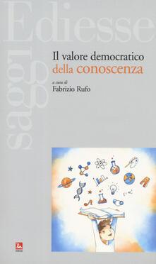 Il valore democratico della conoscenza.pdf