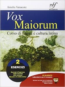 Ristorantezintonio.it Vox maiorum. Esercizi. Per le Scuole superiori. Con e-book. Con espansione online. Vol. 2 Image