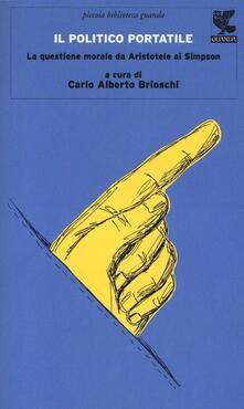 Il politico portatile. La questione morale da Aristotele ai Simpson - copertina