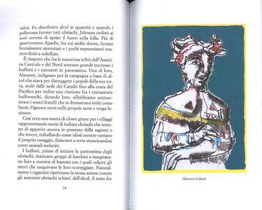 Foto Cover di Storia proibita dell'America, Libro di Dario Fo, edito da Guanda 2