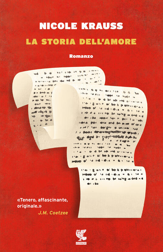La storia dell'amore - Nicole Krauss - copertina