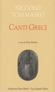 Canti greci