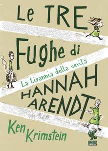 Filippodegasperi.it Le tre fughe di Hannah Arendt. La tirannia della verità Image