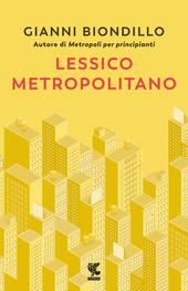 Copertina  Lessico metropolitano