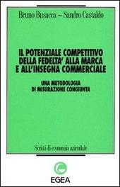 Il potenziale competitivo della fedeltà alla marca e all'insegna commerciale. Una metodologia di misurazione congiunta