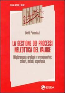 La gestione dei processi nell'ottica del valore. Miglioramento graduale e reengineering: criteri, metodi, esperienze