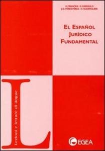 Libro El espanol jurídico fundamental