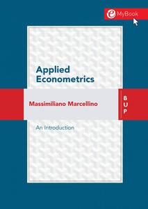 Applied econometrics. An introduction