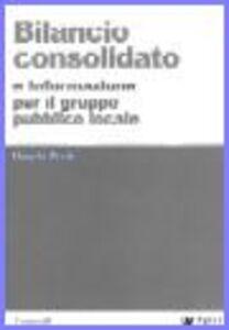 Libro Bilancio consolidato e informazione per il gruppo pubblico locale Daniela Preite