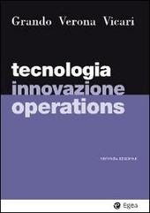 Tecnologia, innovazione, operations