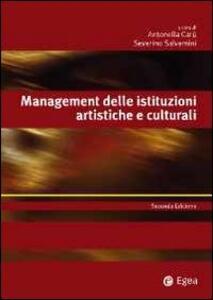 Management delle istituzioni artistiche e culturali