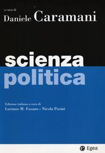 Foto Cover di Scienza politica, Libro di  edito da EGEA