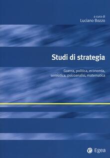 Steamcon.it Studi di strategia. Guerra, politica, economia, semiotica, psicoanalisi, matematica Image