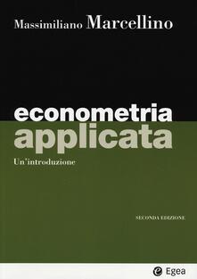 Cocktaillab.it Econometria applicata. Un'introduzione Image