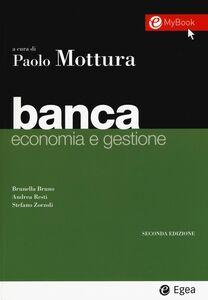Foto Cover di Banca. Economia e gestione, Libro di AA.VV edito da EGEA