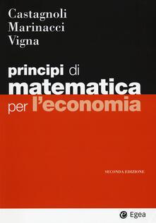 Steamcon.it Principi di matematica per economia Image