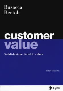Radiospeed.it Customer value. Soddisfazione, fedeltà, valore Image