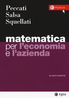 Ilmeglio-delweb.it Matematica per l'economia e l'azienda. Con Contenuto digitale per accesso on line Image