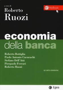 Mercatinidinataletorino.it Economia della banca. Con Contenuto digitale per download e accesso on line Image
