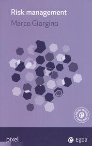 Foto Cover di Risk management, Libro di Marco Giorgino, edito da EGEA