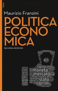 Politica economica. Con aggiornamento online