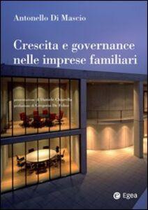 Libro Crescita e governance nelle imprese familiari Antonello Di Mascio