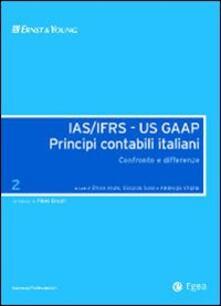 Parcoarenas.it IAS/IFRS - US GAAP. Principi contabili italiani. Confronto e differenze. Vol. 2 Image