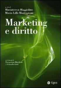 Libro Marketing e diritto