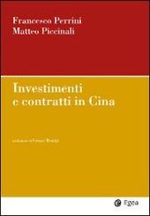 Investimenti e contratti in Cina