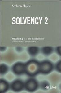 Foto Cover di Solvency 2. Strumenti per il risk management delle aziende assicurative, Libro di Stefano Hajek, edito da EGEA