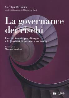 Camfeed.it La governance dei rischi. Un riferimento per gli organi e le funzioni di governo e controllo Image