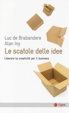 Premioquesti.it Le scatole delle idee. Liberare la creatività per il business Image