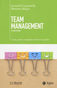 Nordestcaffeisola.it Team management. Come gestire e migliorare il lavoro di squadra Image