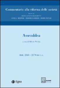 Commentario alla riforma delle società. Vol. 3: Assemblea. Artt. 2363-2379 ter.