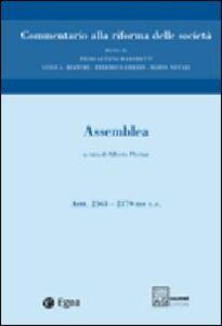 Libro Commentario alla riforma delle società. Vol. 3: Assemblea. Artt. 2363-2379 ter.