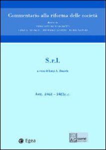 Libro Società a responsabilità limitata art. 2462-2483 c.c.